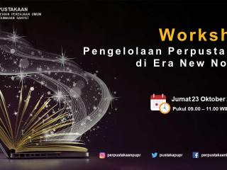 Workshop Pengelolaan Perpustakaan Di Era New Normal